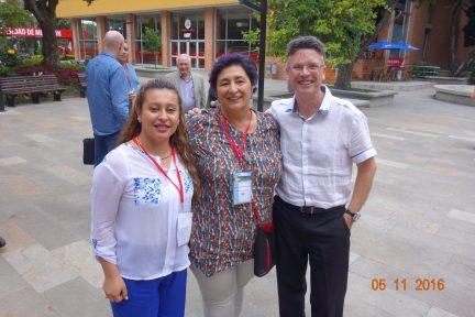 junto a Magdalena Ezcurra y Diana Daza