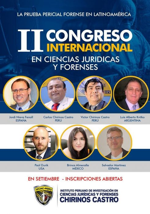 Congreso Ciencias juridicas y forenses-Salvador Martinez