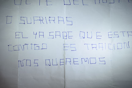 anónimo amenazas Salvador Martinez Cañavate